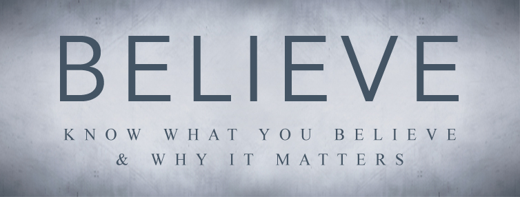 """Believe"" Outreach Resources"