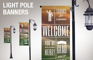 Phrases Light Pole Banners