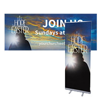 """The Hope Of Easter"" Banners and Signs"