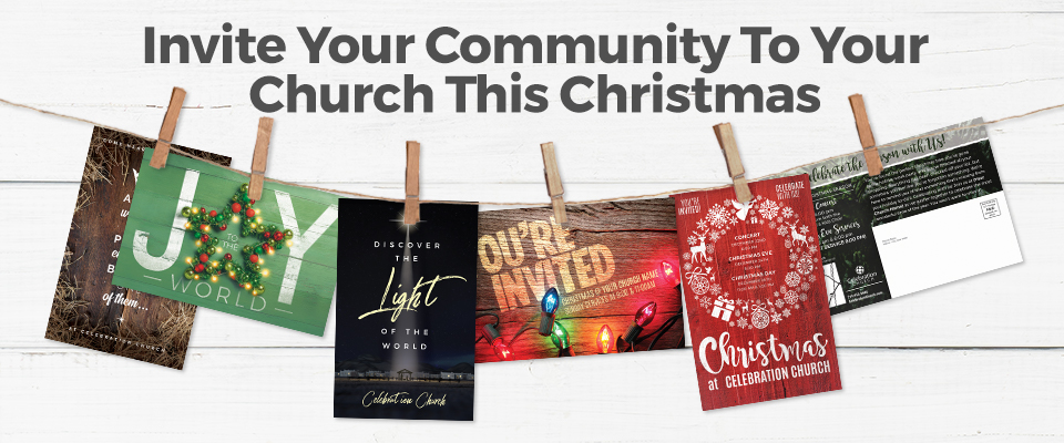 Church Direct Mail Postcards