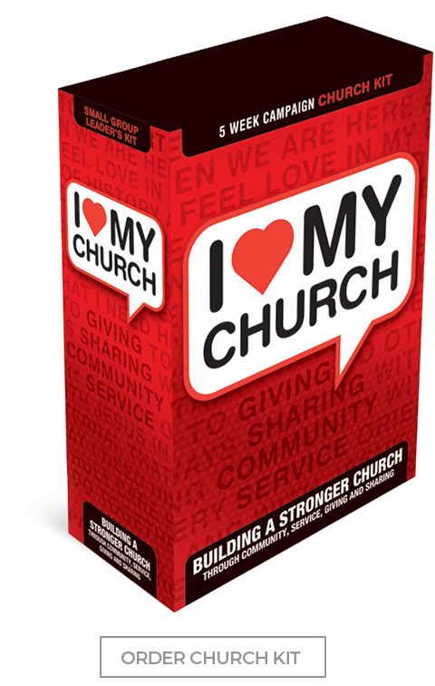 I Love My Church: 5-Week Church Sermon Series