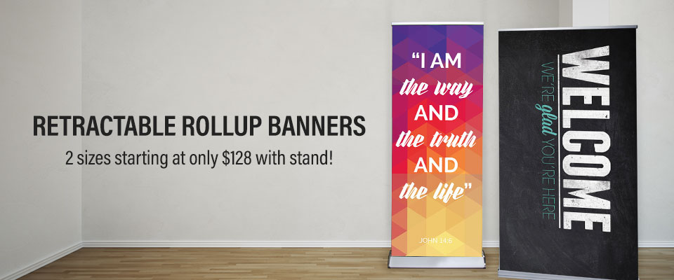 Retractable Roll Up Banners