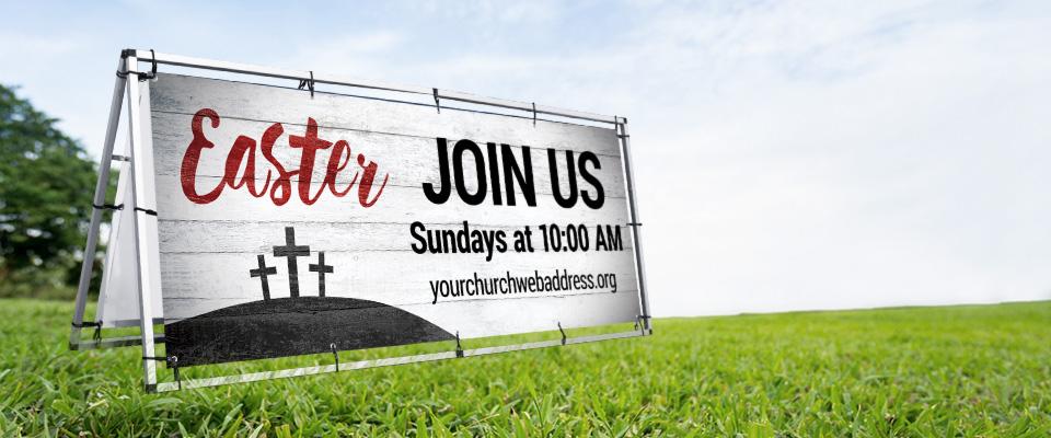 Outdoor Church Banners, Custom Outdoor Vinyl Banners ...