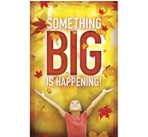 Something Big Fall Postcard