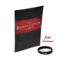 Courageous Resolution Book For Men