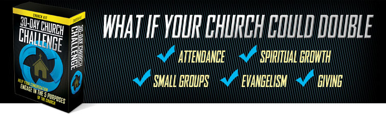 30 Day Church Challenge - Double Your Engagement in 30 Days