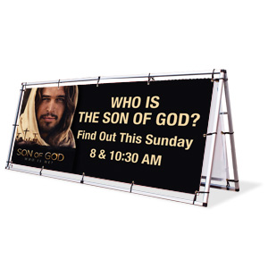 Son of God: Who is He? Banner