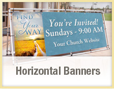 Custom Church Outdoor Banners