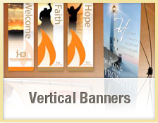 Custom Church Indoor Banners
