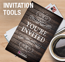 Rustic Charm Invitation Tools