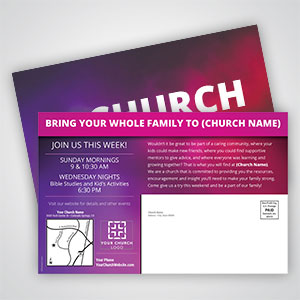 Church Invitation Cards
