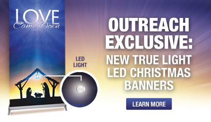 New True Light Banners for Christmas