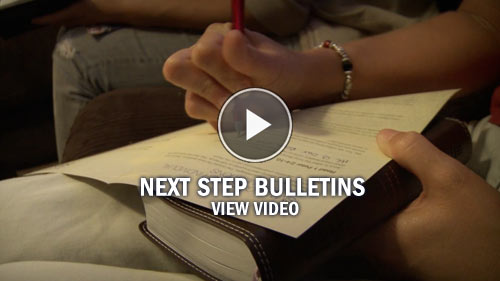 Next Step Bulletin Video