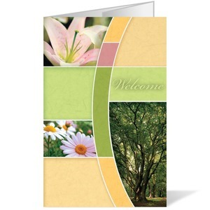 Spring Trees 8.5 x 14 Bulletins