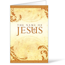 Name of Jesus Bulletin