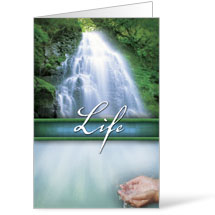 Beautiful Words Life 8.5 x 14 Bulletins