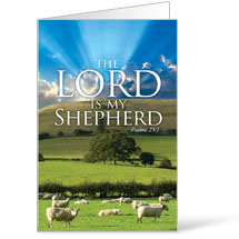 Lord My Shepherd 8.5 x 14 Bulletins