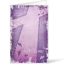 Vintage Purple  8.5 x 14 Bulletins