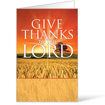 Give Thanks Lord - 8.5 x 14 Bulletins