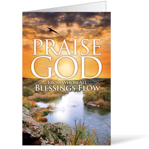 Blessings Flow  8.5 x 14 Bulletins