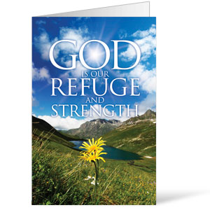 Refuge and Strength  8.5 x 14 Bulletins