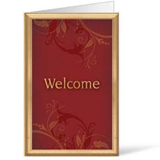 Frames Welcome Bulletin