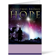 Christmas Brings Hope Bulletin