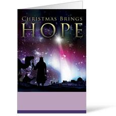 Christmas Brings Hope Bulletin
