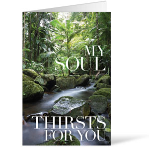 My Soul Thirsts - 8.5 x 14 Bulletins
