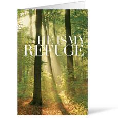 He is My Refuge Bulletin