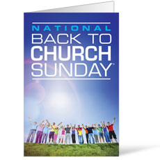 Back To Church Sunday 2013 Bulletin
