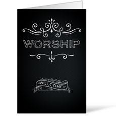 Chalk Worship Bulletin