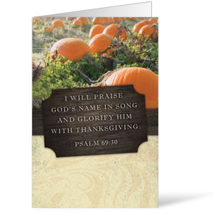 Fresh Air Pumpkin Bulletins