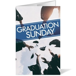 Graduation 8.5 x 14 Bulletins