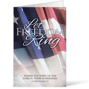 Let Freedom Ring 8.5 x 14 Bulletins