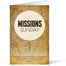 Mission Sunday Map