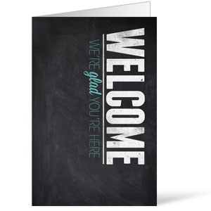 Slate Welcome Bulletins