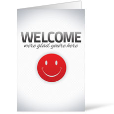 Pinstripe Welcome Bulletin