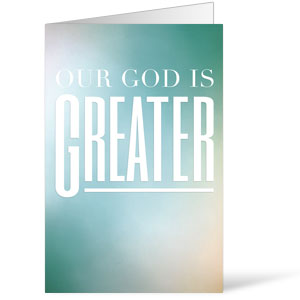 God is Greater 8.5 x 14 Bulletins