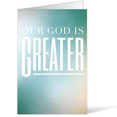 God is Greater Bulletin