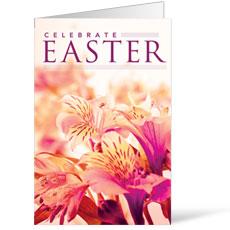 Celebrate Easter Flowers Bulletin