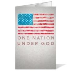 Under God Bulletin