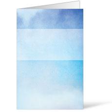 Watercolor Blue Bulletin