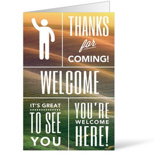 Phrases Welcome 8.5 x 14 Bulletins