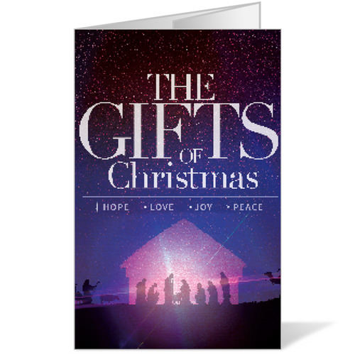 The Gifts of Christmas Advent Bulletin - Church Bulletins - Outreach ...