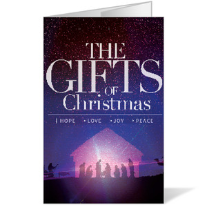 The Gifts of Christmas Advent Bulletins