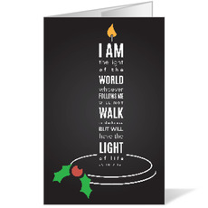 Light of the World Candle Bulletin