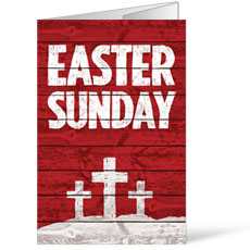 Easter Wood Red Bulletin