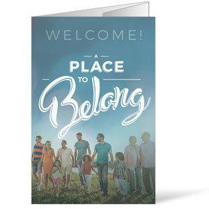 Back to Church Sunday: A Place to Belong Bulletins