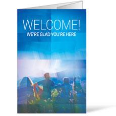 Modern Mosaic Welcome Bulletin